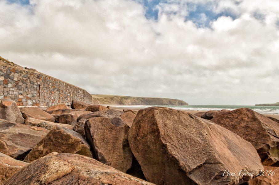 Rocks Wales Beach